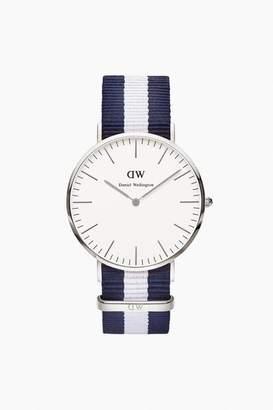 Daniel Wellington Men's Classic Glasgow Silver Watch