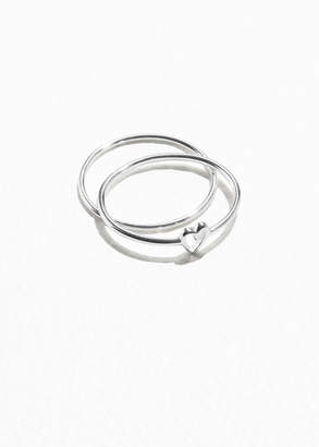 And other stories Sterling Silver Heart Ring