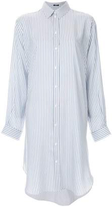 Jil Sander Navy striped shirt dress