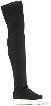 Rick Owens DRKSHDW scuba boots $763 thestylecure.com
