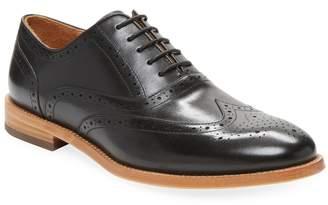 Warfield & Grand Men's Wingtip Leather Oxford