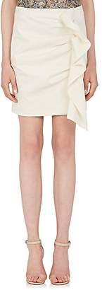 Isabel Marant Women's Lefly Cotton-Blend Miniskirt - Ecru