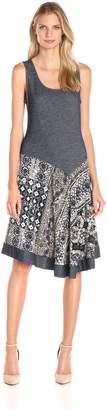 MSK Women's Asymmetric Knit Tank Dress