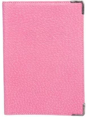 Smythson Textured Passport Holder
