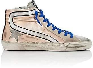 Golden Goose Women's Slide Leather & Suede Sneakers - Rose