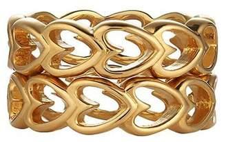 Asha By Ashley Mccormick Heart Stacking Ring
