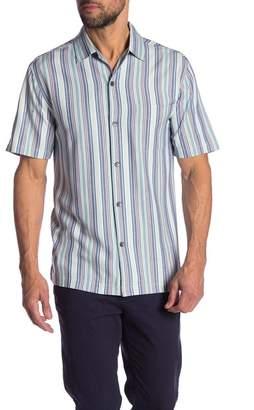 Tommy Bahama Sandy Sea Stripe Button Shirt