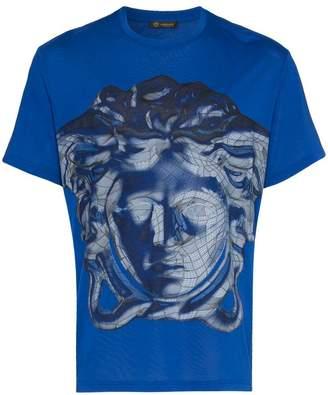 Versace medusa graphic print t-shirt
