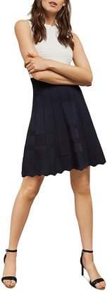 Ted Baker Polino Color-Blocked Knit Dress