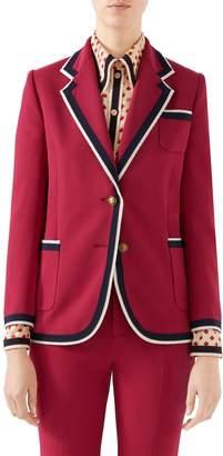 Gucci Stretch Cady Jacket