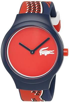 Lacoste Unisex 2020113 Goa Analog Display Japanese Quartz Blue Watch
