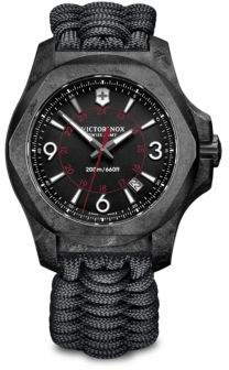 Victorinox I.N.O.X. Carbon, Stainless Steel Paracord Strap Watch