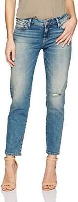 Mavi Jeans Women's Emma Mid Rise Slim Boyfriend