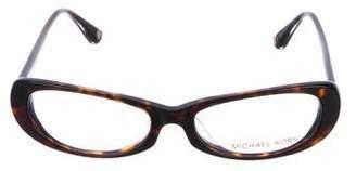 Michael Kors Tortoiseshell Narrow Eyeglasses