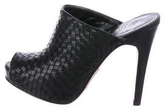 Alejandro Ingelmo Woven Slide Sandals
