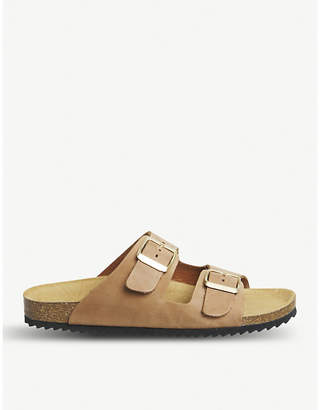 Office Hype 2 double-strap leather sandals