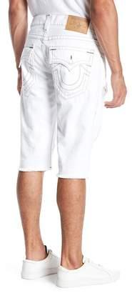 True Religion Straight Cutoff Distressed Shorts