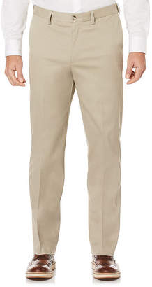 Savane Flat Front Pants-Big and Tall