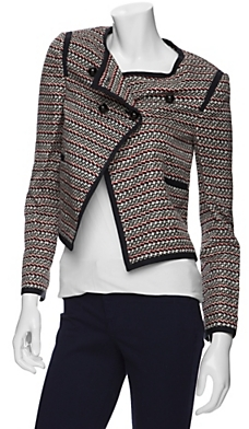 Elizabeth And James Zig Zag Blazer