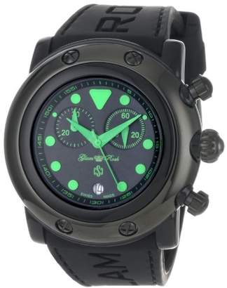 Glam Rock Women's 'Miami Beach' Swiss Quartz Resin and Silicone Casual Watch