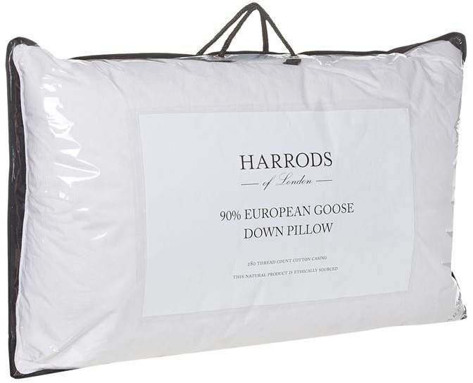 90% European Goose Down Pillow (Soft)