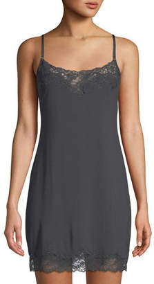 Josie Natori Undercover Lace-Trimmed Chemise