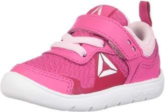 Reebok Kid's Ventureflex Stride 5.0 Crib Shoes, Primal Red/Black/ White