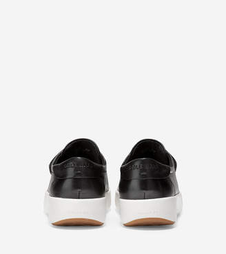 Cole Haan Women's GrandPr Tennis Flatform Monk Sneaker