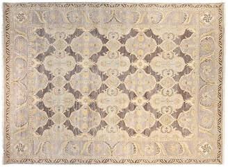 F.J. Kashanian 9'x12' Sari Alina Hand-Knotted Rug - Gray