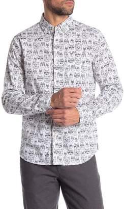 Heritage Woodland Animal Slim Fit Shirt