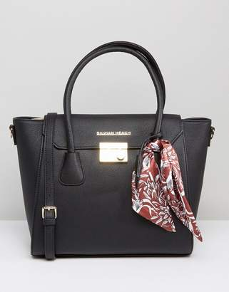 Silvian Heach Tote Bag With Scarf Detail