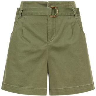 SET High-Waisted Bermuda Shorts