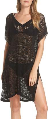 Echo Pointelle Cover-Up Caftan
