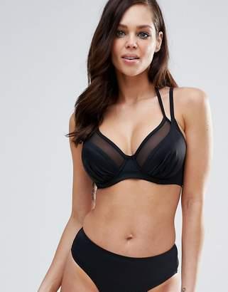 Pour Moi? Pour Moi Double Strap Convertible Bikini Top B - G Cup