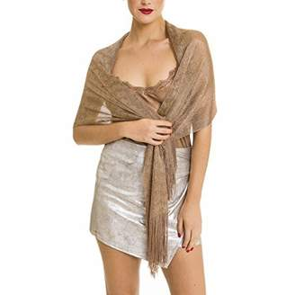 MELIFLUOS DESIGNED IN SPAIN Shawl Wrap Fashion Scarf for Women Spring Winter: Evening Dresses, Wedding, Party, Bridal