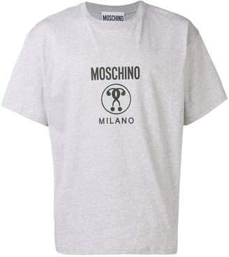 Moschino Double Question Mark logo T-shirt