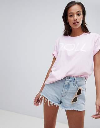 PrettyLittleThing Doll Slogan T-Shirt