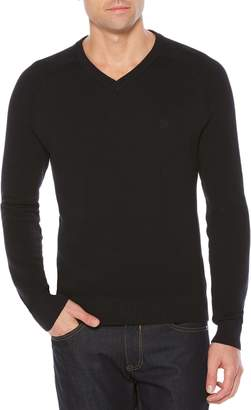 Original Penguin Big & Tall Honeycomb V-Neck Sweater