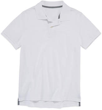 Arizona Short Sleeve Flex Polo Shirt Boys 4-20, Regular & Husky