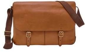 Fossil Buckner Leather Messenger Bag