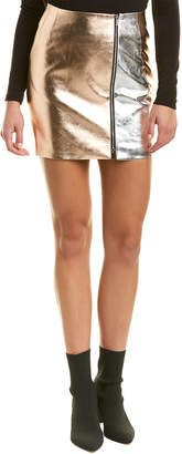 French Connection Audrey Pu Mini Skirt