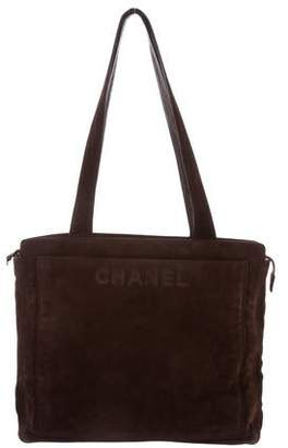 Chanel Suede Tote
