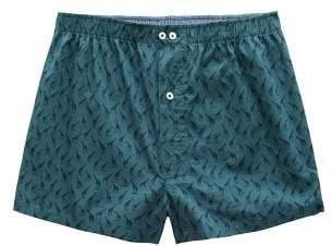 Mango man MANGO MAN Printed cotton boxer shorts