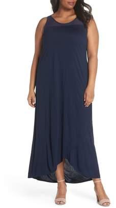 Sejour Long Wrap Style Dress