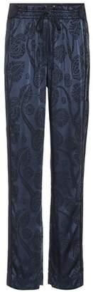 Peter Pilotto Satin jacquard trousers
