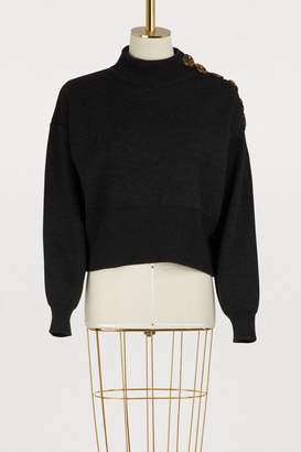 Maison Père High-neck sweater