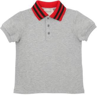 Gucci Cotton Piqué Polo Shirt