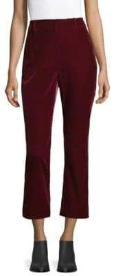 Derek Lam 10 Crosby Velvet Crop Pants