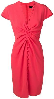 Paule Ka knot detail dress