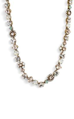 Sorrelli Classic Floral Crystal Necklace